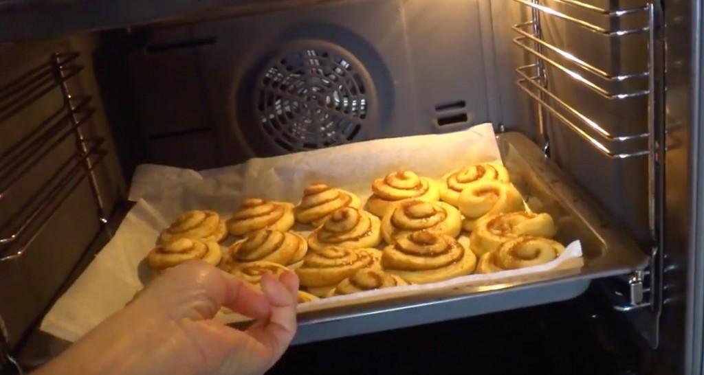 Bollos de Canela al horno.