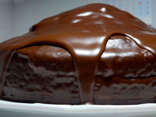 Tarta de chocolate 'Vulcano Sar Cake'