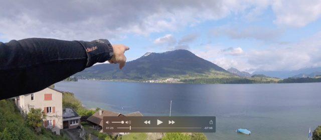 Correr en Suiza por el Lago de Cuatro Cantones