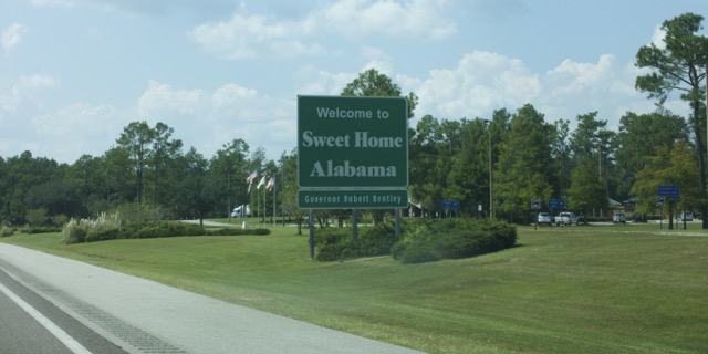 Welcome Alabama
