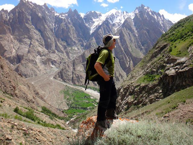 EN el valle de Hushé en la cordillera del Karakorum