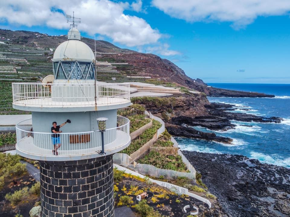 Foto desde Dron del Faro de Punta Cumplida