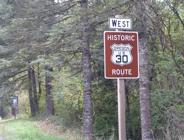 Historic Oregon US 30