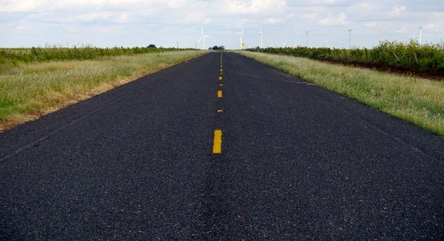 Carretera estatal secundaria.