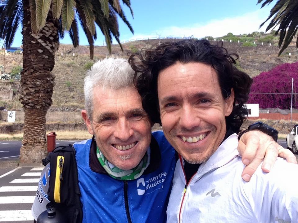 Con Ángel Yuste, pasión por la montaña.
