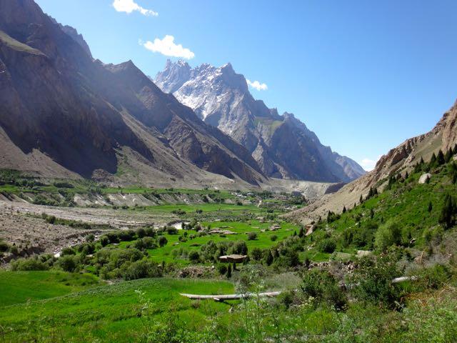 Valle de Hushé en el Karakorum pakistaní