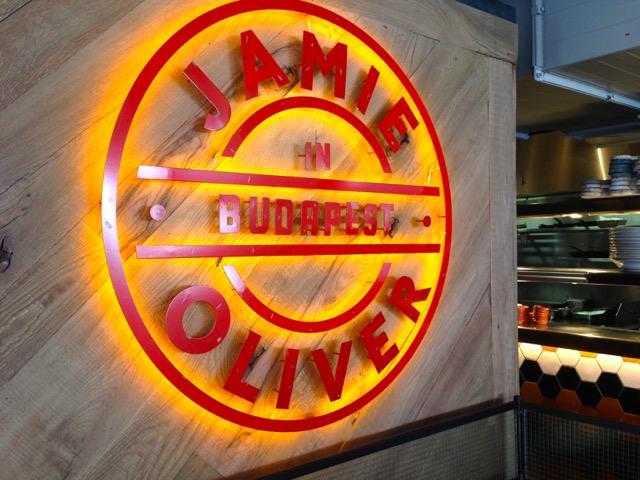 Jamie Oliver in Budapest